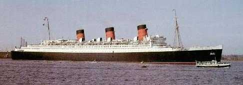 LEGENDY SHIP - QUEEN MARY – CURRENTLY MUSEUM SHIP  IN LONG BEACH, CALIFORNIA, USA