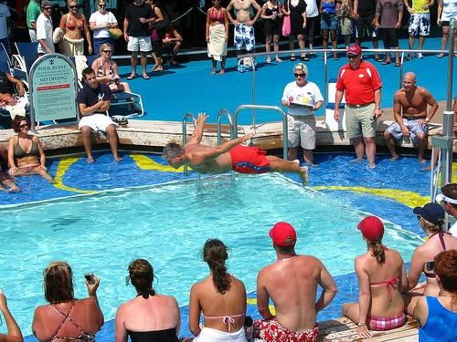SPORTS COMPETITIONS IN THE POOLS - ONE OF THE POPULAR WAY FOR SPENDING TIME